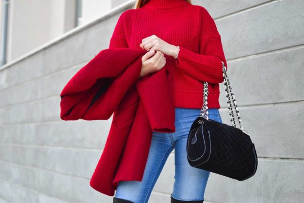 How to wear red this fall