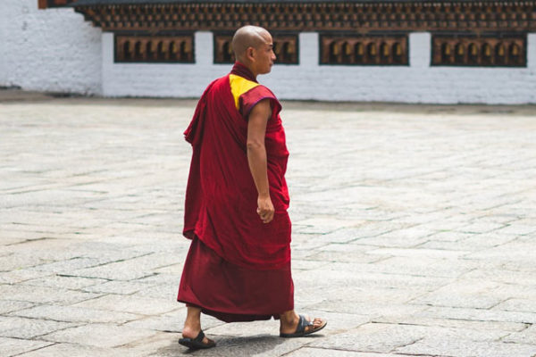 Peaceful Lifestyle of a Monk