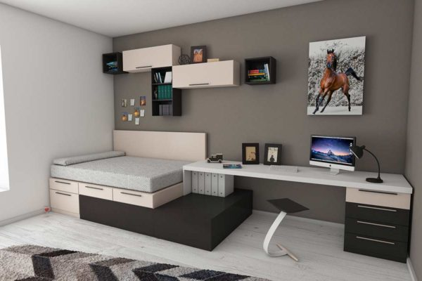 Ways to create more space in small room