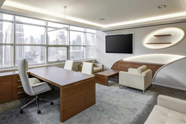 Office interior architecture and design