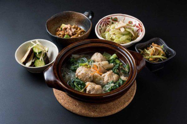 Japanese dinner dishes