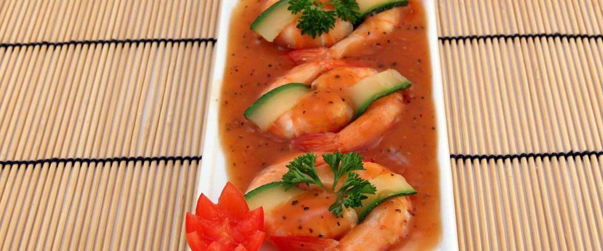 Shrimp in Tomato Sauce