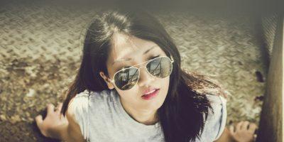 Modeling Sunglasses Fun Life