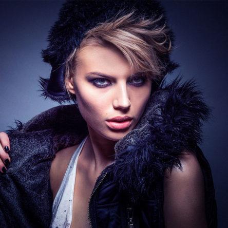 Black Furred Jacket