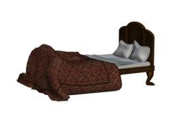 Lofter Steel Bed 6 FT. BK