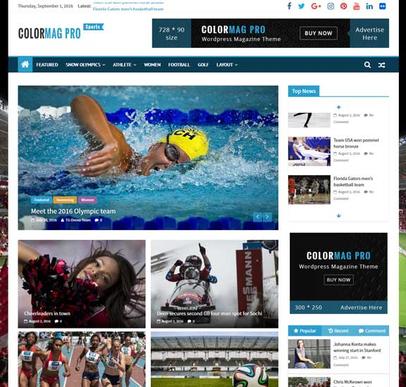 colormag-pro-sports